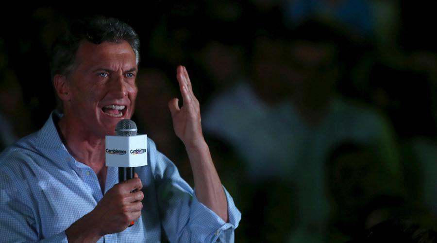 Presidential candidate Mauricio Macri © Marcos Brindicci