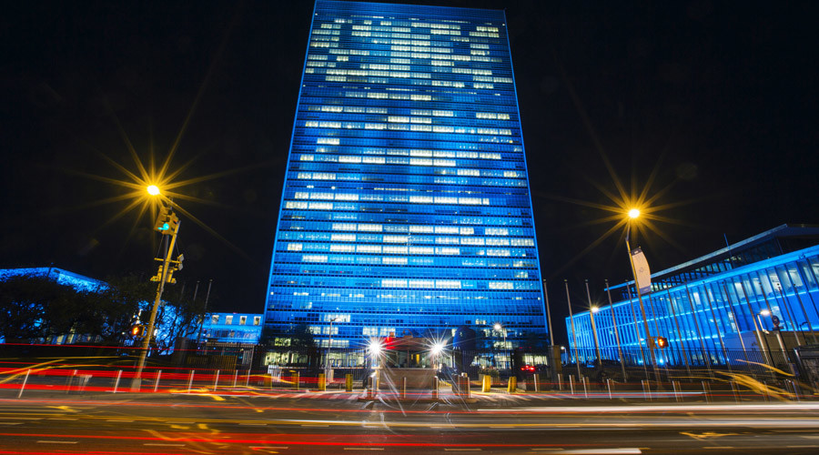 The United Nations headquarters © Lucas Jackson