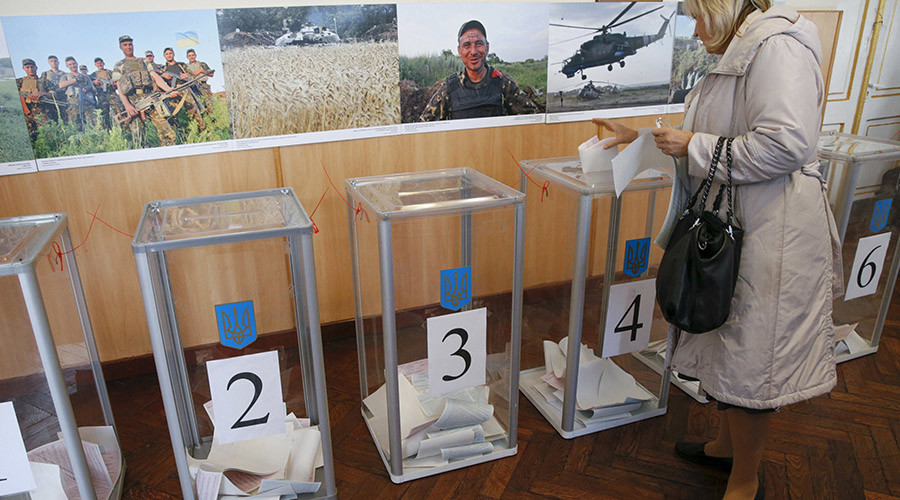 Ukraine votes in local election amid confidence crisis & fraud allegations