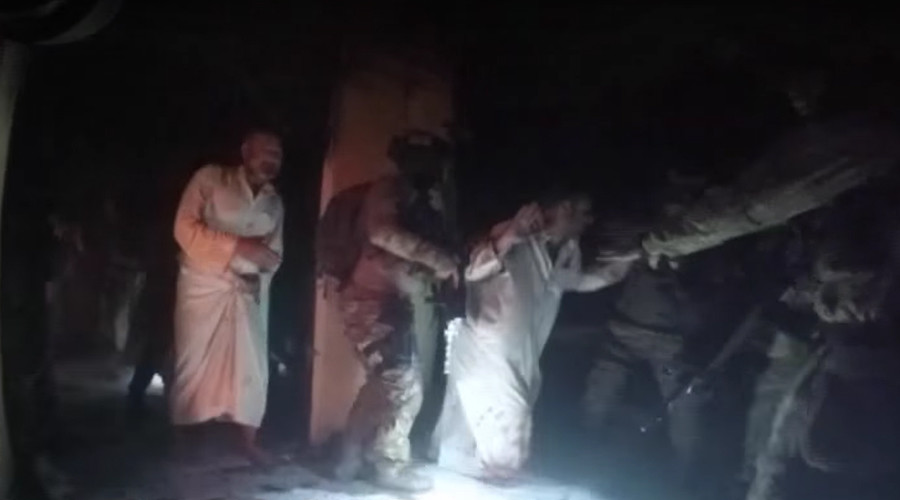 VIDEO: How US Special Forces & Kurds rescued hostages from ISIS in Iraq
