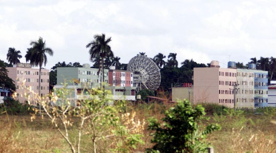 The secret Russian listening station at Lourdes some 30 km (approx. 18 miles) south of Havana is seen in this December 13, 2000. © Andrew Winning