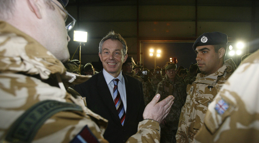 'Blair pre-empting Chilcot': Father of dead soldier doubts ex-PM's Iraq apology