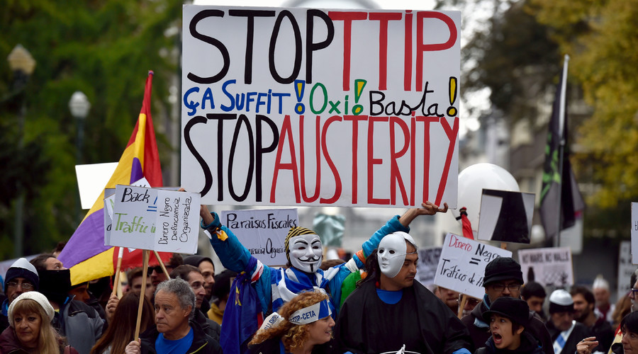 'Exclude NHS from TTIP deal,' opposition parties demand