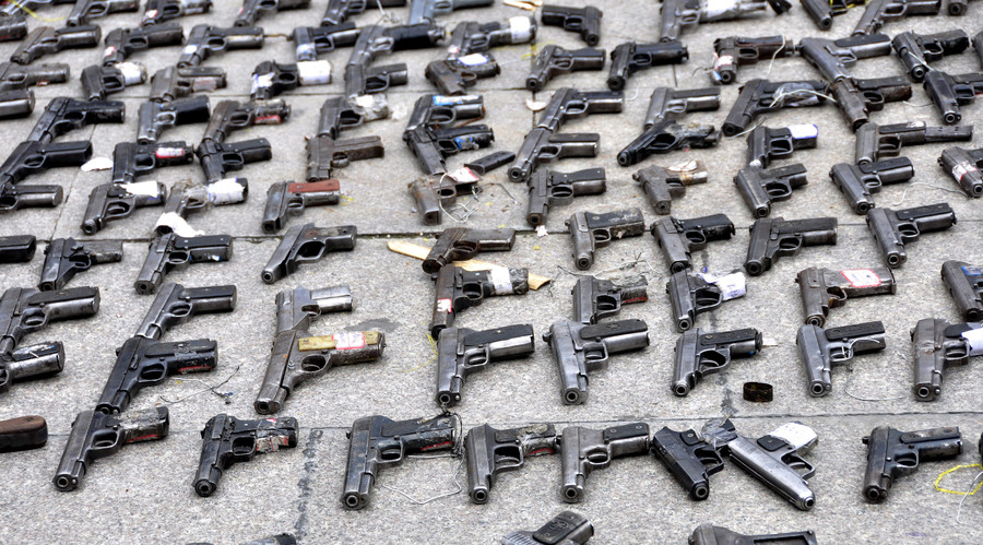 No gun rack that big: Cops need 4 trucks to transport SC man's 7k weapons cache