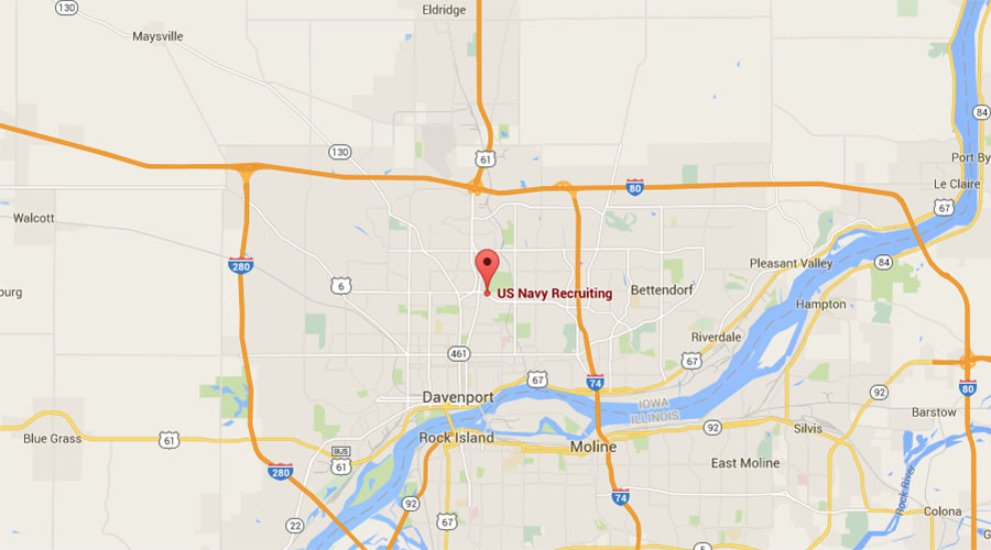 Shots fired at Iowa military recruiting center, nearby warehouse; gunman dead