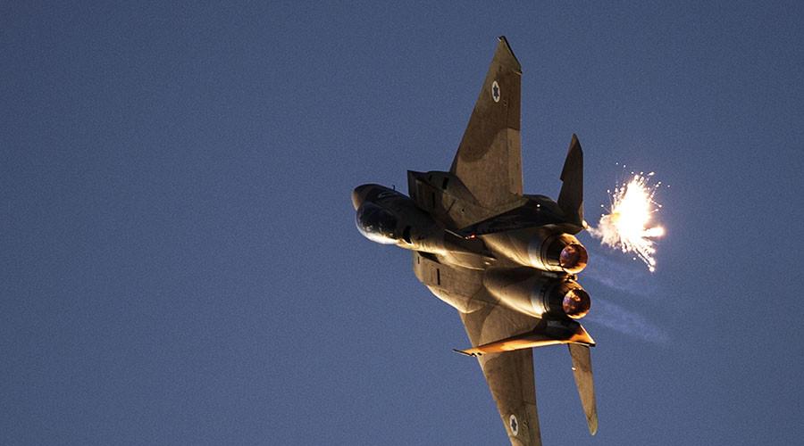 An Israeli air force F-15I fighter jet. © Nir Elias