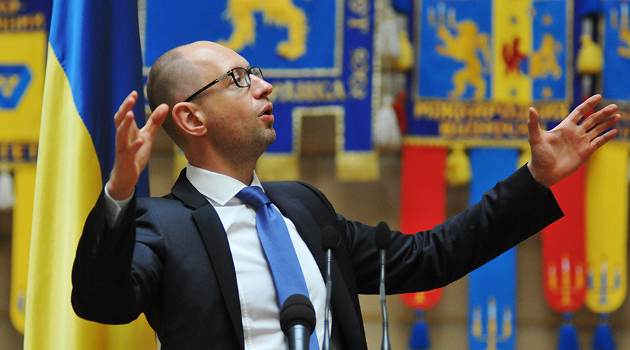 Yatsenyuk threatens moratorium on $3bn debt to Russia