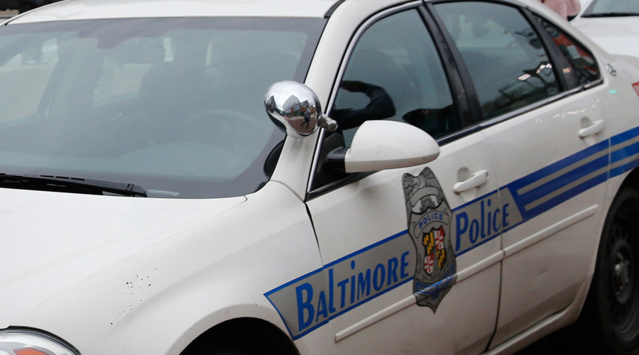 'Spitting' Baltimore cop charged with assault (VIDEO)