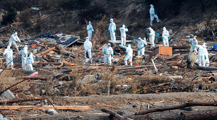 Nearly 40% of Fukushima crisis responders received more than year's dose of radiation – govt survey