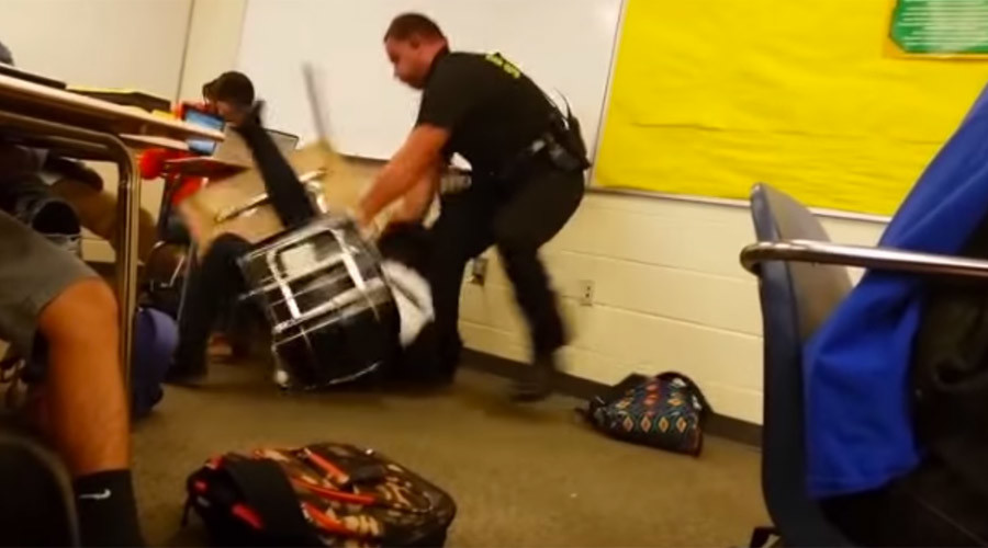 SC officer who body slammed black student has been sued twice before