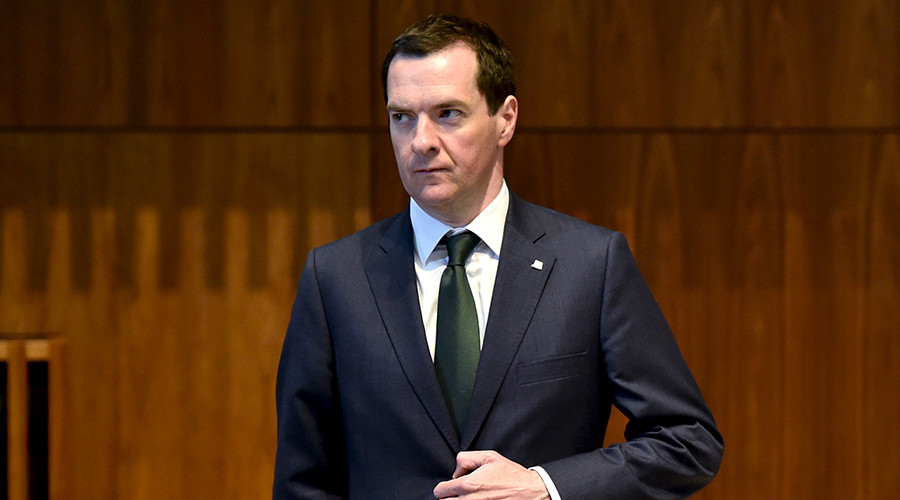 Britain's Chancellor of the Exchequer George Osborne © Eric Vidal