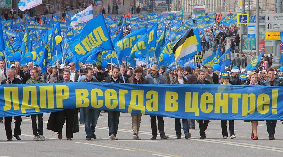 Flamboyant nationalist Zhirinovsky announces major changes in 'hermaphrodite' party