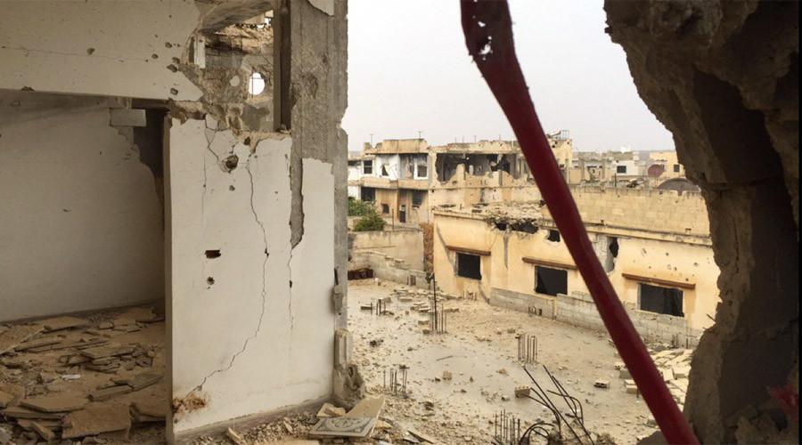 RT EXCLUSIVE: 'Post-apocalyptic' scenes of razed & ransacked Syrian village (VIDEO)