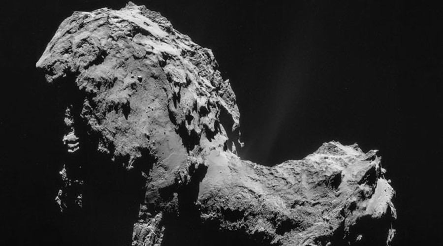 'Big surprise': Rosetta finds primordial oxygen on 67P comet
