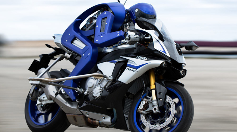 'Created to surpass you': Humanoid bike-riding robot unveiled (VIDEO)