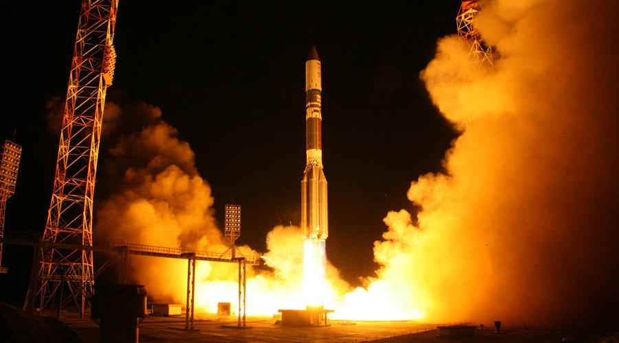 Proton-M rocket launch from Baikonur Cosmodrome © Sergey Sergeev