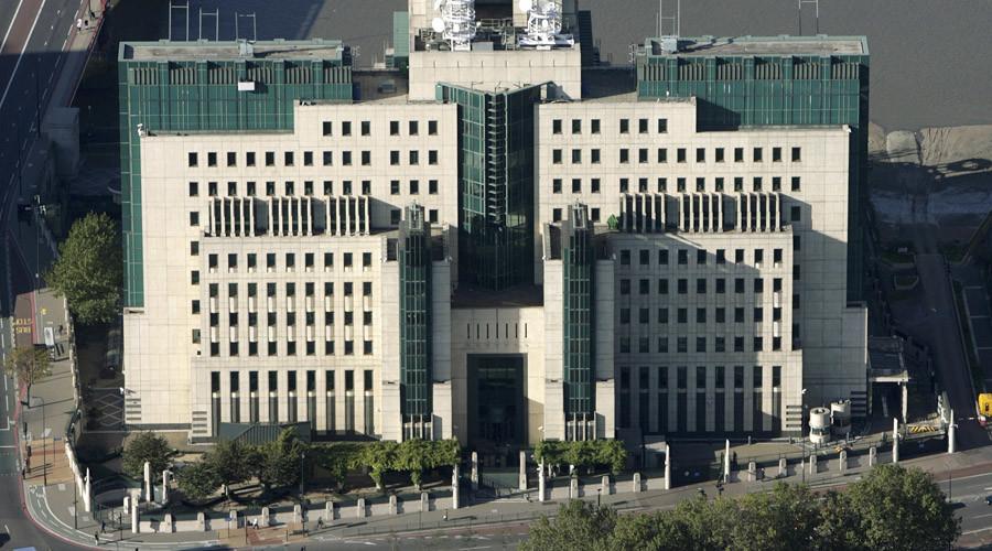 A general view of the MI6 headquarters in London. © Kieran Doherty