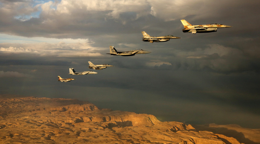 Israel hosts largest-ever intl air force drill, pitting troops against fictional enemy