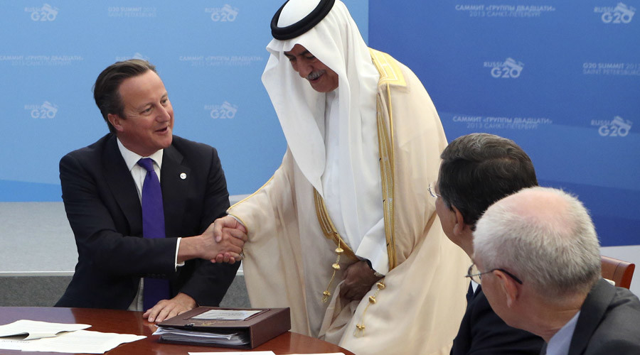 Saudi Arabia: Fawning Cameron starts charm offensive as relations falter