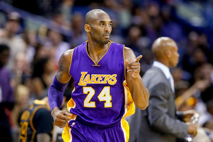 Los Angeles Lakers guard Kobe Bryant © USA Today Sports