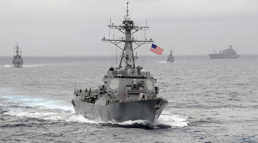The US Navy guided-missile destroyer USS Lassen © US Navy