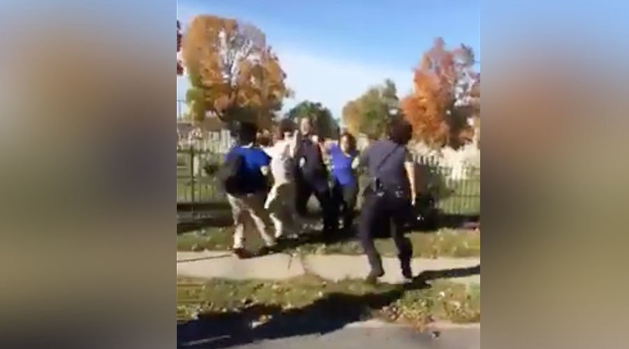 4 police officers injured in brawl started by Pennsylvania high school students (VIDEO)