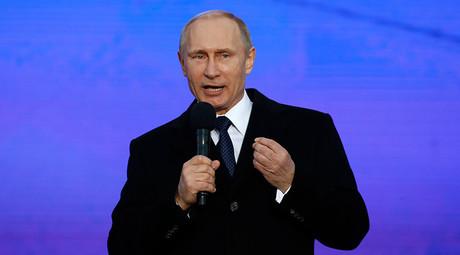 Russian President Vladimir Putin © Maxim Zmeyev