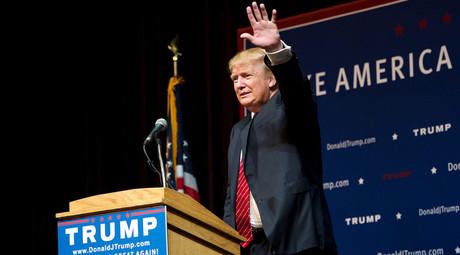 U.S. Republican presidential candidate Donald Trump © Gretchen Ertl