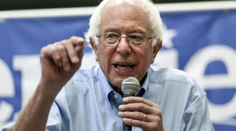 U.S. Democratic presidential candidate Bernie Sanders. © Brian C. Frank