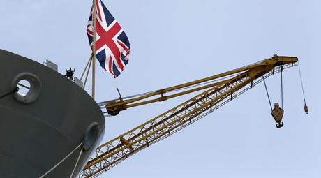 British Royal Navy ship HMS Bulwark © Darrin Zammit Lupi