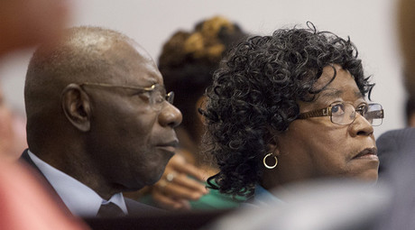 Walter Scott, Sr. and Judy Scott, parents of Walter Scott © Randall Hill