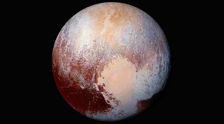This NASA's photo of Pluto © NASA