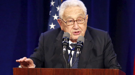 Former U.S. National Security Advisor and Secretary of State Henry Kissinger © Jason Redmond