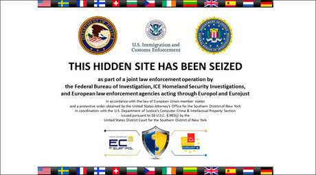 The homepage to Silk Road 2.0, allegedly an underground drug market, is seen in a screenshot after it was closed by U.S. authorities November 6, 2014. © Staff