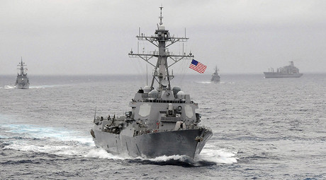 The US Navy guided-missile destroyer USS Lassen © John Hageman
