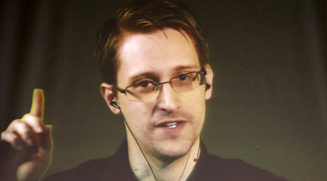 Former U.S. National Security Agency contractor Edward Snowden. © Vincent Kessler