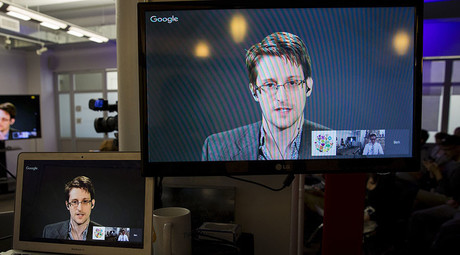 Former U.S. National Security Agency contractor Edward Snowden. © Andrew Kelly