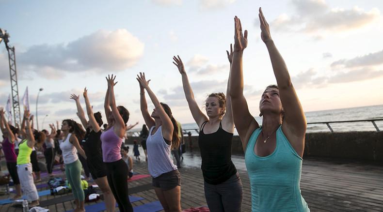 Not so Zen! Rival yoga gurus in bust-up over room heater ...