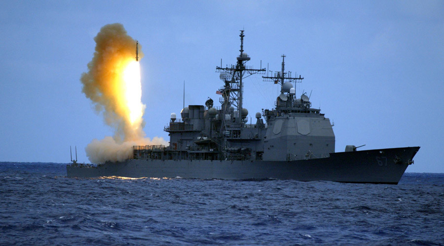 A Standard Missile Three (SM-3) is launched from the guided missile cruiser USS Shiloh (CG 67) during a joint U.S. Missile Defense Agency, U.S. Navy ballistic missile flight test in the Pacific Ocean © U.S. Navy