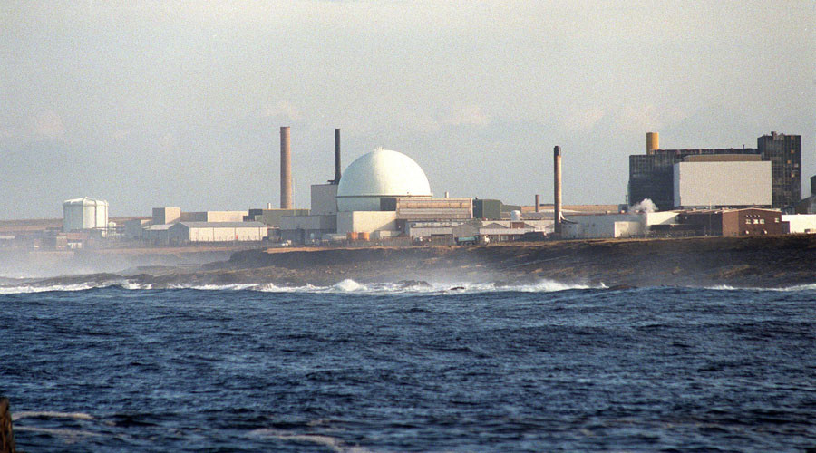 The nuclear fuel reprocessing plant at Dounreay in Scotland. © Reuters