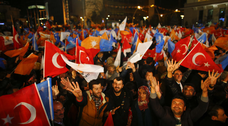 Turkey's markets, currency soar on election results
