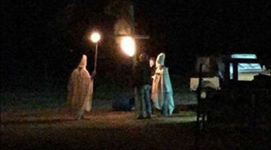 KKK took my mayor away? Oklahoma official's job in jeopardy after hubby's 'prank'