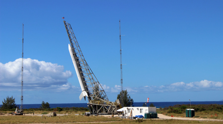 'Super Strypi' rocket disintegrates 1 minute after launch