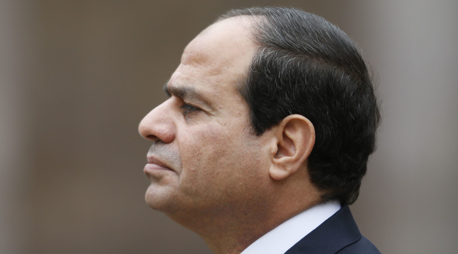 #StopSisi: Egyptian president's first UK visit met with protest