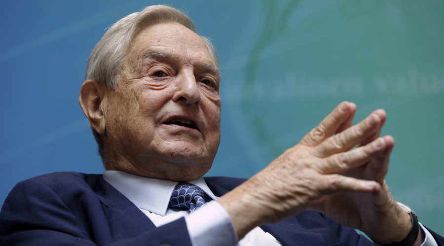 Billionaire investor George Soros speaks at a forum Charting A New Growth Path for the Euro Zone during the annual IMF-World Bank meetings in Washington September 24, 2011. © Yuri Gripas