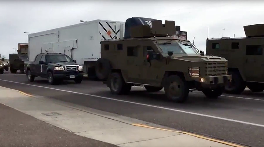 Nuke rear-ender: Feds armored vehicle collides into truck with missile (VIDEO)