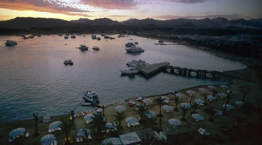 A sunset view of Sharm al-Sheikh. © Boris Babanov