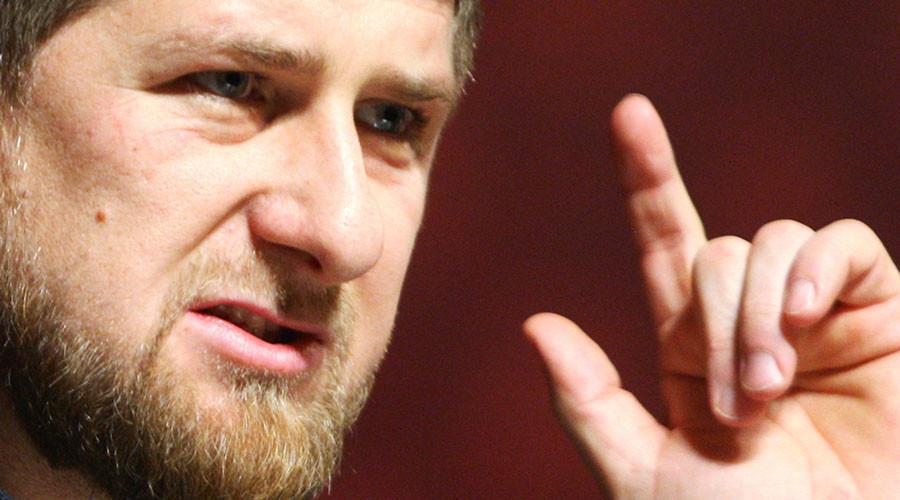 Ramzan Kadyrov, leader of Russia's Chechen Republic. ©Said Tsarnaev