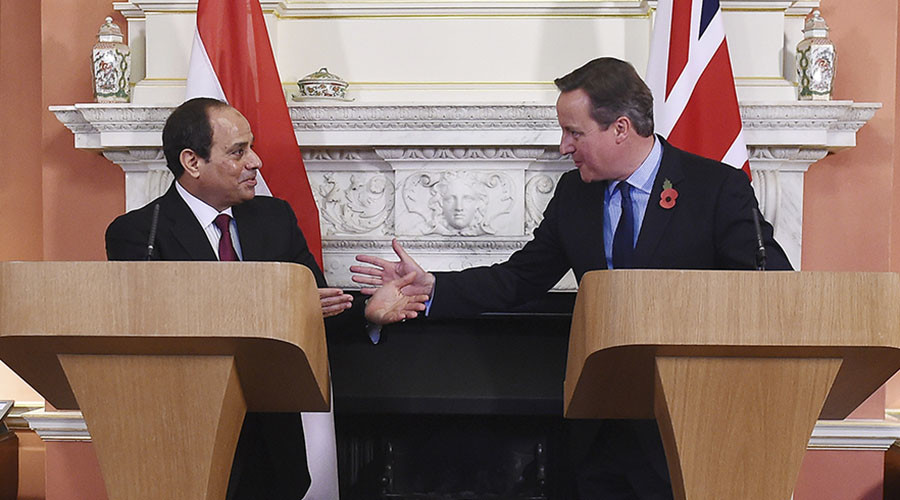 Sisi: Egypt will work with UK to ensure Sharm el-Sheikh Britons are returned