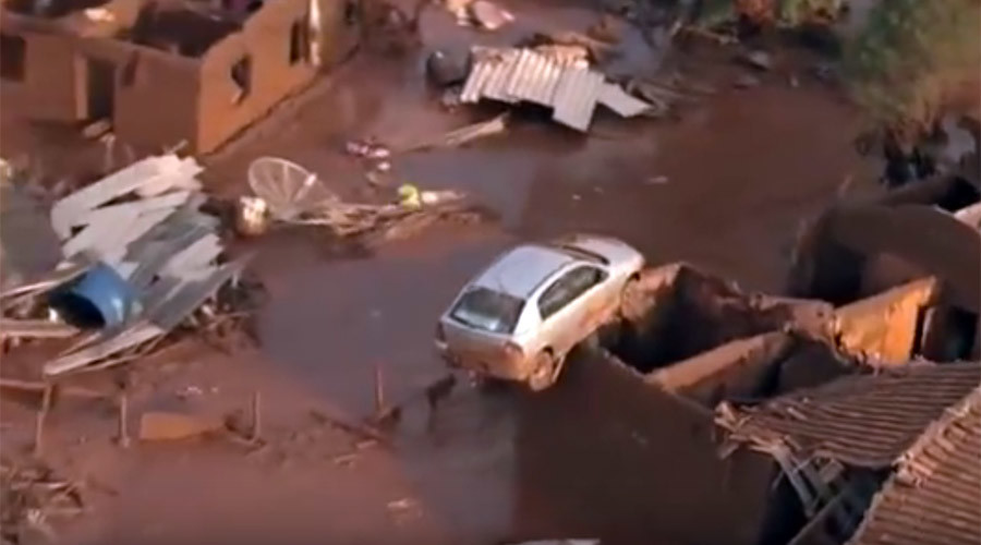 'Catastrophe': At least 17 killed, 45 missing, town leveled by flood in Brazil dam collapse